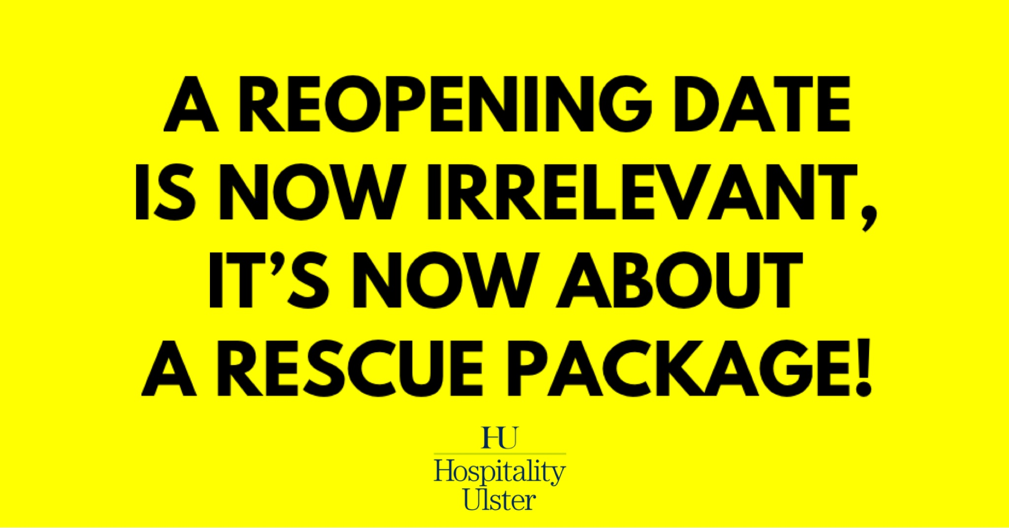 A REOPENING DATE IS NOW IRRELEVANT - ITS NOW ABOUT A RESCUE PACKAGE