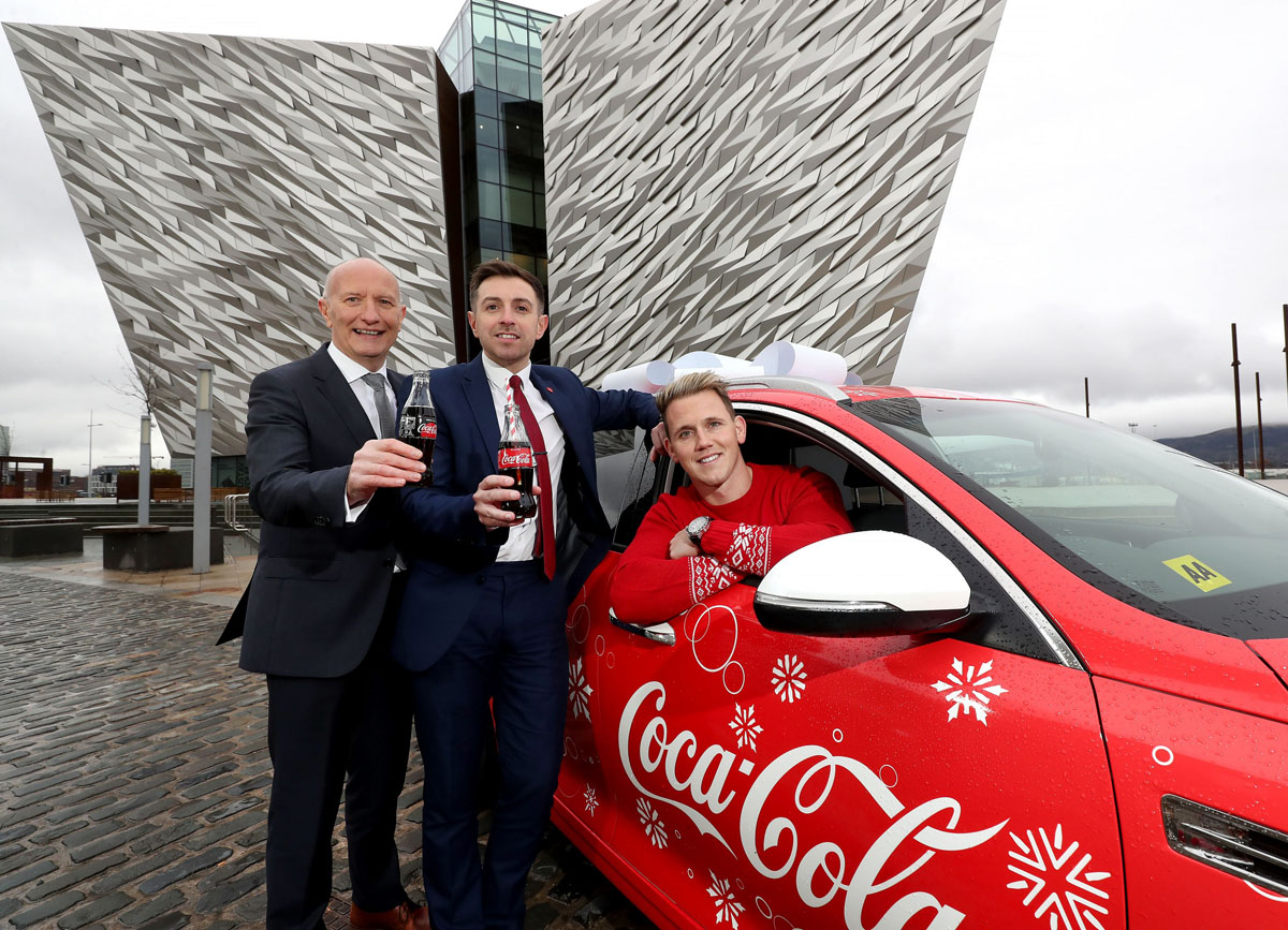 Rugby Star Craig Gilroy Lines Out For Coca Colas 2017 Designated Driver Campaign