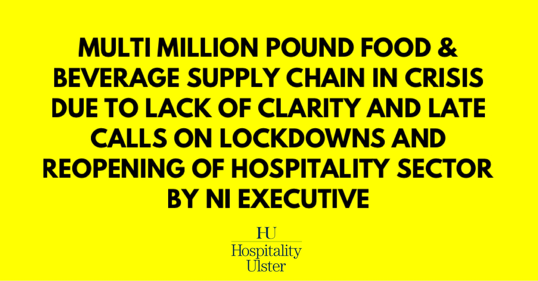 MULTI MILLION POUND FOOD AND BEVERAGE SUPPLY CHAIN IN CRISIS