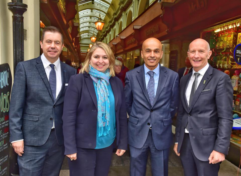 Hospitality Ulster Belfast Chamber And Retail NI Meet Secretary Of State On Primark