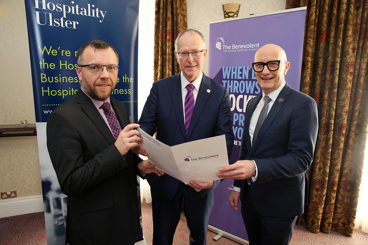 HU Partners With The Benevolent To Support People In NI Drinks Industry