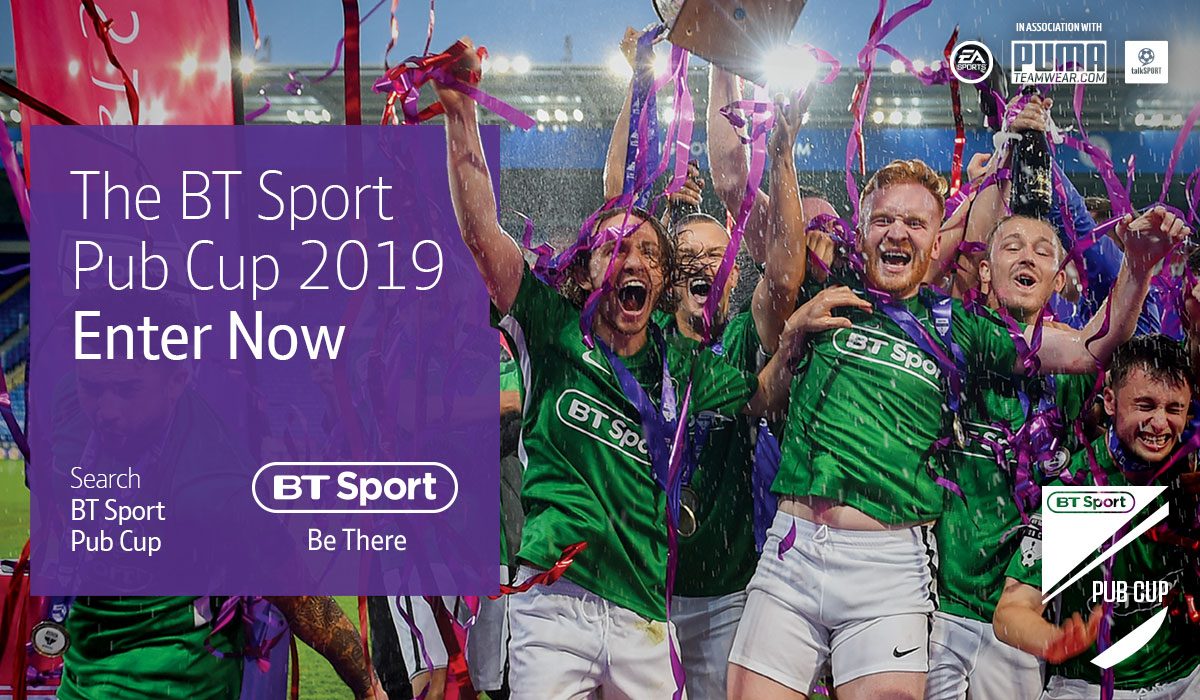 BT SPORT ISSUES CALL TO ENTER AS PUB CUP COMES TO NI