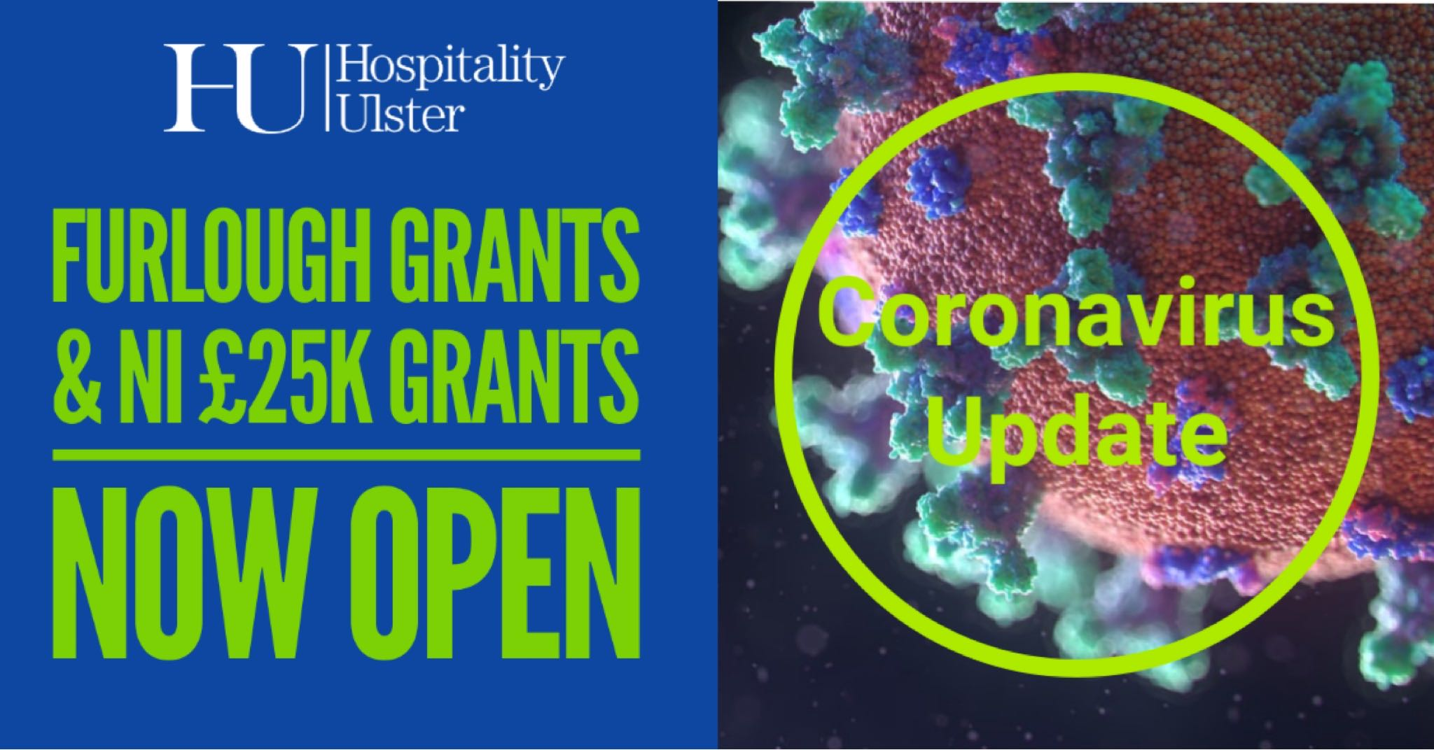NI 25K GRANTS AND FURLOUGHED GRANTS NOW OPEN