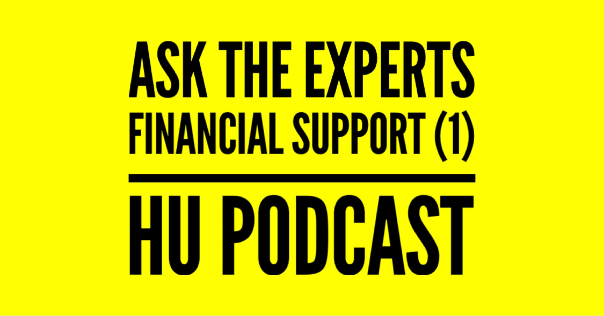 Ask The Experts Financial Support 1