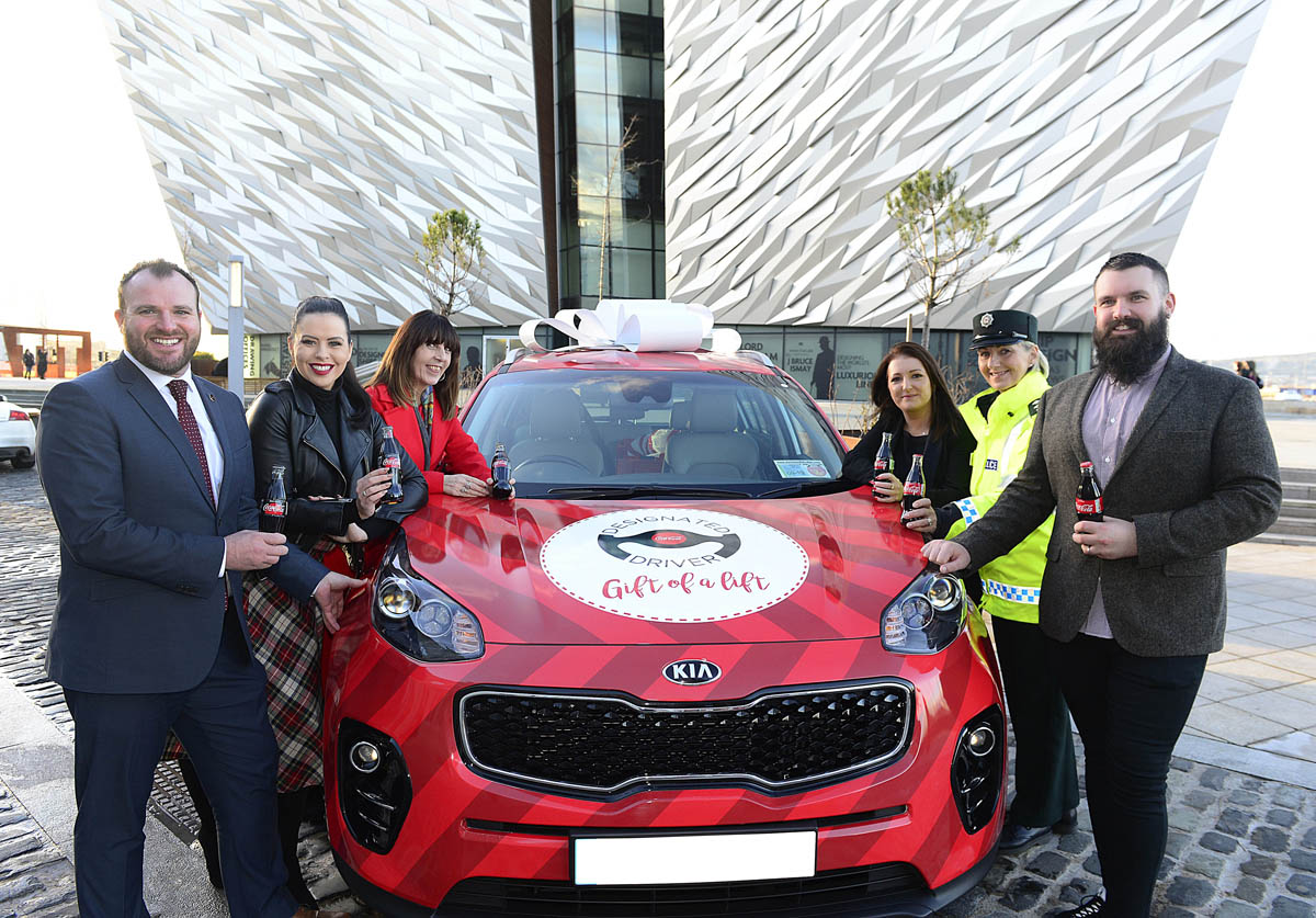COCA COLA DESIGNATED DRIVER CAMPAIGN OFFERS THE GIFT OF A LIFT THIS CHRISTMAS