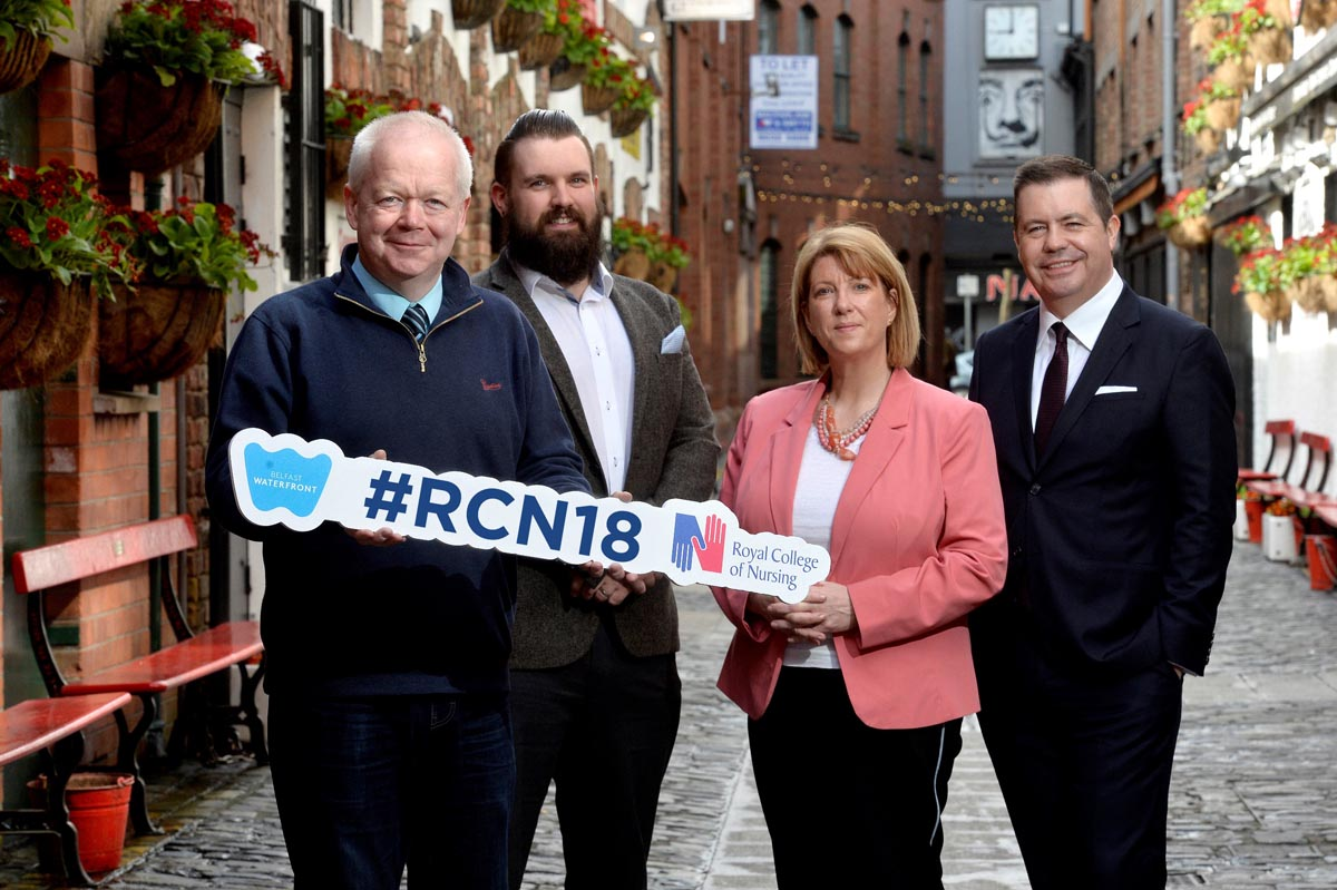 BELFAST HOSPITALITY, RETAIL AND HOTEL SECTORS EXTEND BIG WELCOME TO NURSES