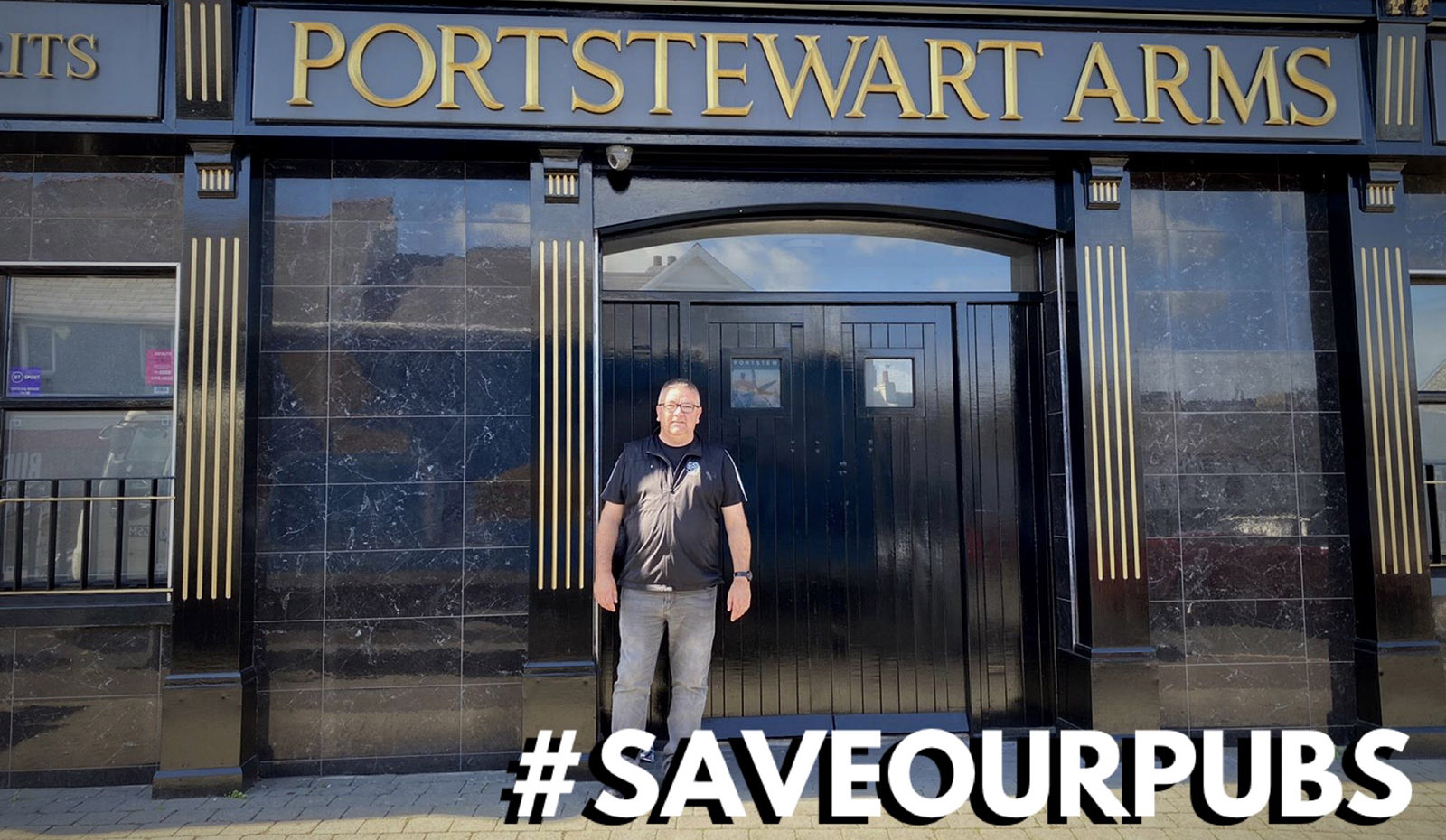 SAVEOURPUBS - The Portstewart Arms