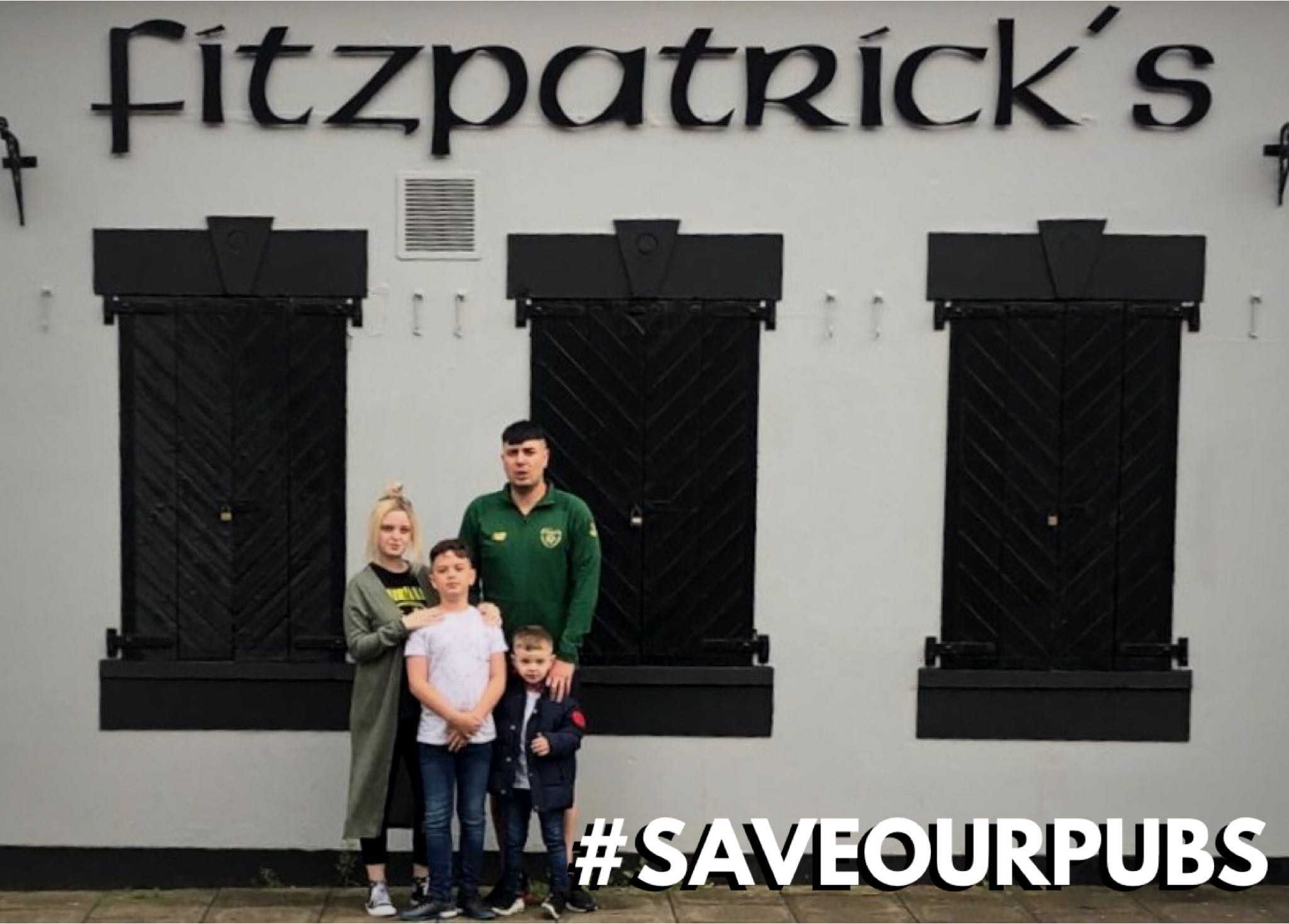 SAVEOURPUBS - Fitzpatricks in Downpatrick