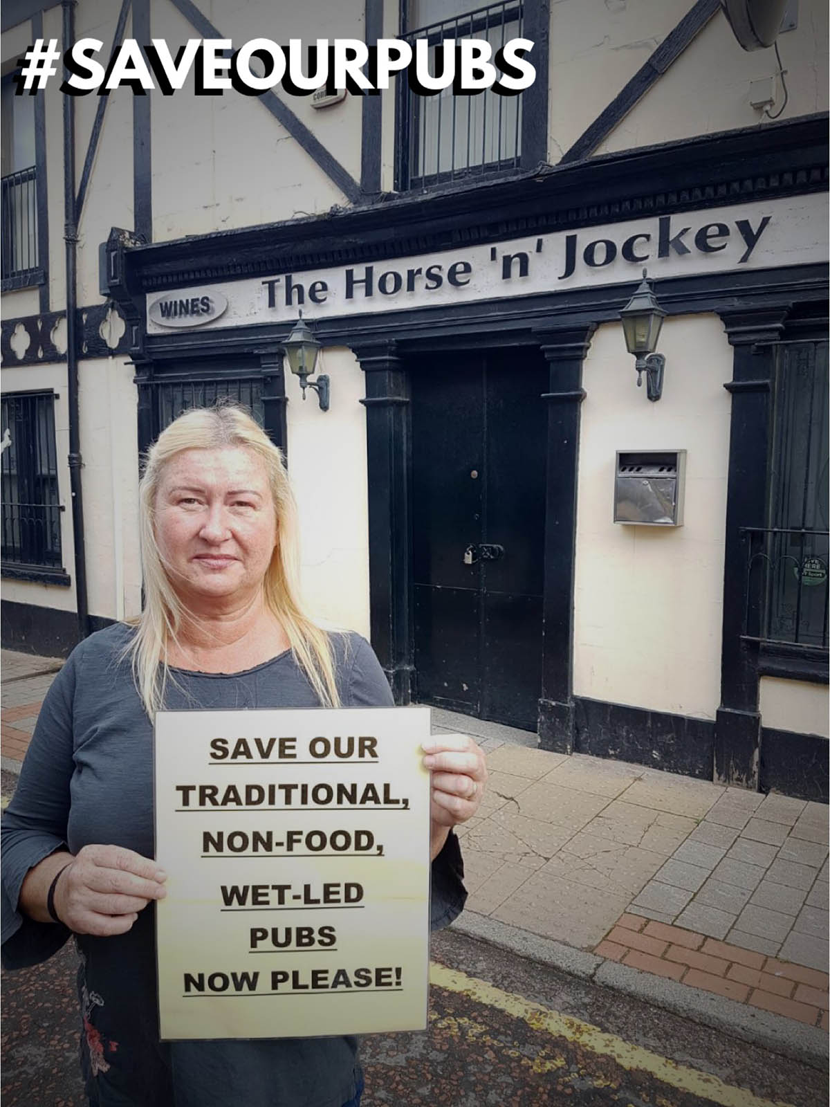 SAVEOURPUBS - The Horse n Jockey
